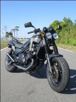 Yamaha Fazer 1986 700 cc - YouTube