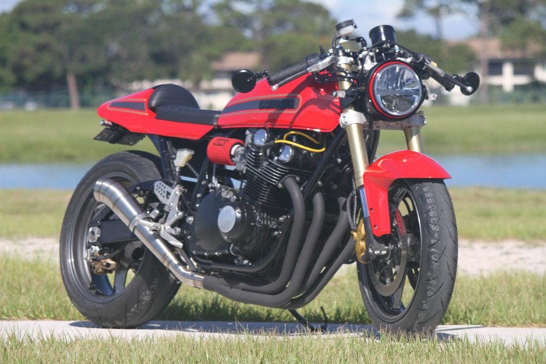 1978 Suzuki GS1000 Resto-Mod Muscle Bike